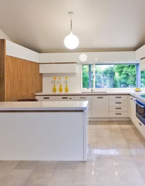 Modern White Kitchen Remodel In Salt Lake City Ut: White Mica Kitchen Cabinets
