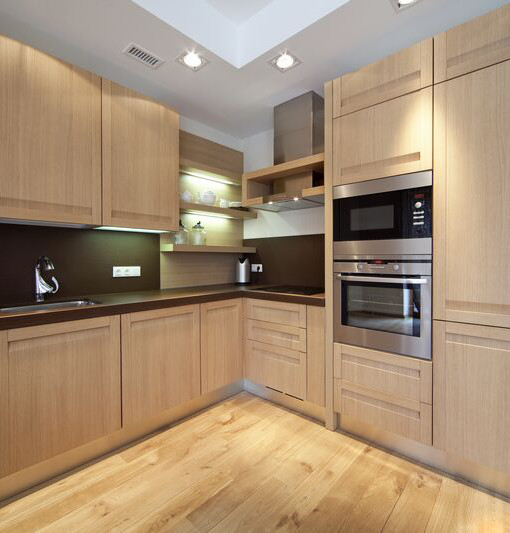 New-Light-Kitchen-Cabinetry-With-Modern-Light-Wood-Kitchen-Cabinets